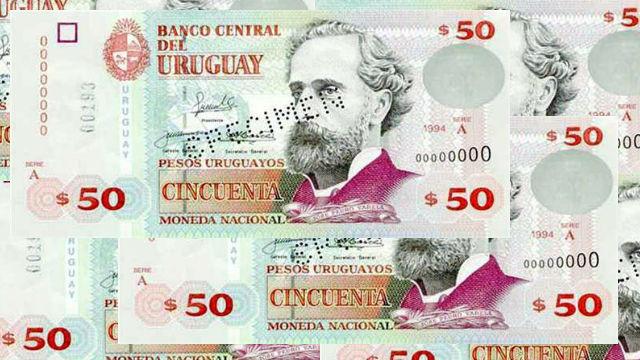 Uruguay ya tiene billetes de