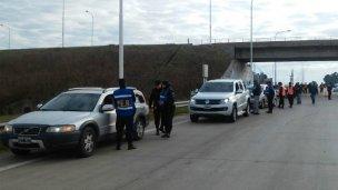 La Policía Departamental y Federal hicieron su primer operativo juntas