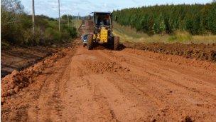 Mejoras en el acceso a Pueblo Liebig desde la autovía Artigas