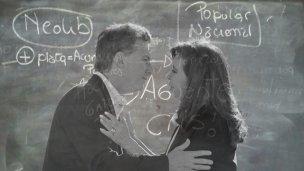 """Hay polémica en una escuela por """"Macri gato"""" y """"Aguante Cris"""""""