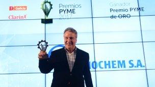 Empresa entrerriana fue distinguida con el PYME de oro