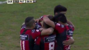 Patronato goleó a Sarmiento y sigue en primera