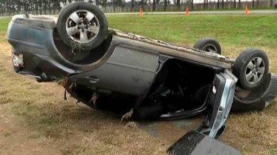 Iba al ministerio a trabajar, pero sufrió un accidente en el camino