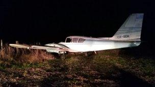 Desbarataron banda que realizaba vuelos narcos desde Paraguay