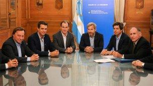 Frigerio, Bordet y los intendentes acordaron más obras para Entre Ríos