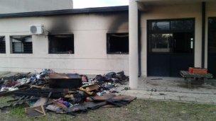 Voraz incendio en un hogar de Copnaf