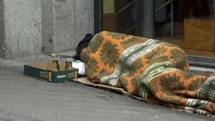 Ante las bajas temperaturas promueven un refugio