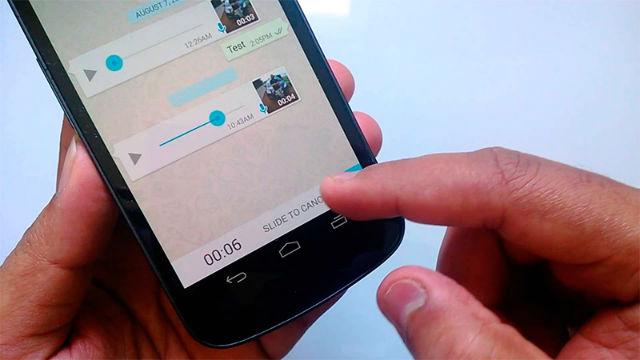 Voicer convierte audio de WhatsApp en Texto