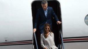 Tras la navidad, los Macri salen de vacaciones
