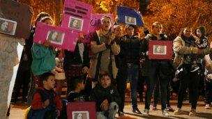 Marcharon por el femicidio de Susana Villarruel