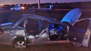 Fatal accidente en la ruta 14