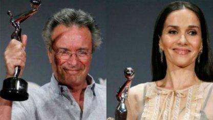 Natalia Oreiro y Oscar Martínez premiados en Madrid