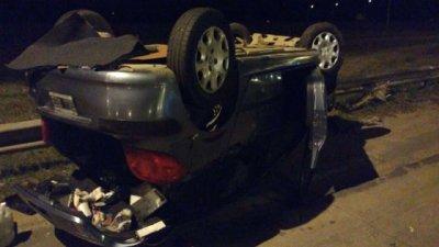 El guardarail de la autovía 14 sufrió otro violento choque
