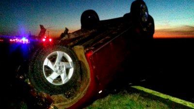 Autovía 14: dos accidentes dejaron 7 heridos