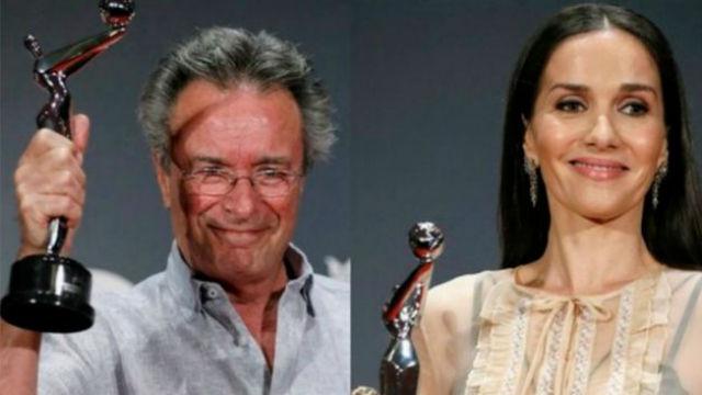 Oreiro y Martínez ganaron los Premios Platino del Público