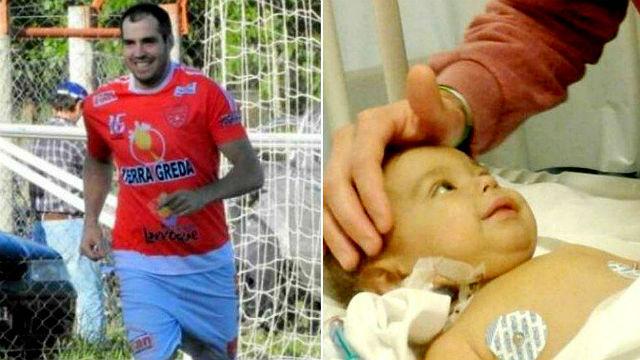 Un jugador dejó el fútbol para donarle el hígado a su sobrino