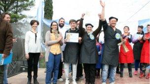 Fabián Mayoraz ganó nuevamente el concurso del Pollo al Disco