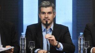 Marcos Peña habló de la obra en la Defensa Sur de Concordia