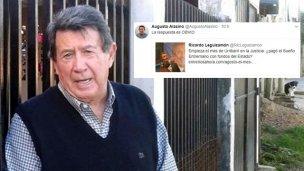 "Alasino cargó contra ""el Sueño Entrerriano"" de Urribarri"