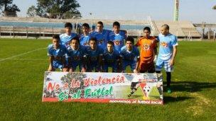 La Sub 15 fue goleada en Uruguay