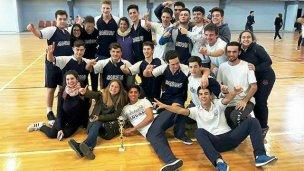 Sagrado Corazón, ganó la etapa local de handball de los Juegos Evita