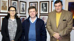 Monjo, Arribalzaga y Rebord, reunidos por el hospital regional