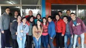 Los jóvenes vecinalistas de San José piden pista