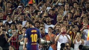 El gol de Messi que vio todo el mundo menos el árbitro