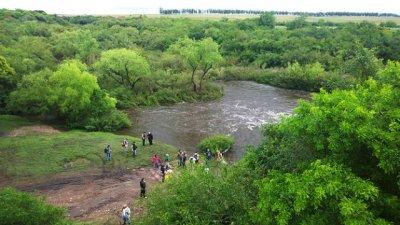 Destinan millones a un corredor biológico, al otro lado del río