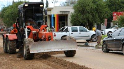 Tras la lluvia, a mejorar las calles de la ciudad y el ejido