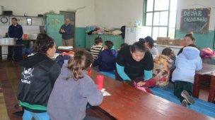 Solidaridad: cocinan diariamente para 120 personas