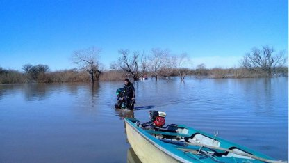 Hallaron el cuerpo de un hombre que había caído al arroyo El Chañar