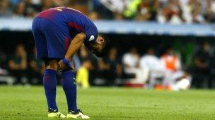 La lesión de Suárez preocupa en Uruguay