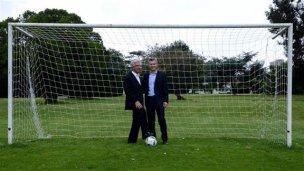 Macri-Messi y Tabaré-Suárez, las duplas para impulsar el Mundial 2030