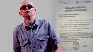 La Justicia notificó al Indio por el show de Olavarría