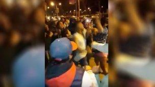 Las peleas de adolescentes se mudaron a la costanera