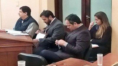 En el primer día del juicio, se sumó otra denuncia contra Escobar Gaviria
