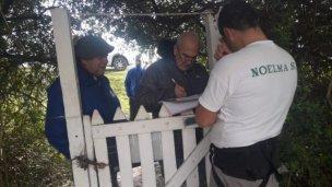 Siguen los controles de Uatre en el departamento Uruguay