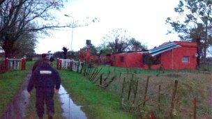 El temporal dejó huellas en Gualeguay