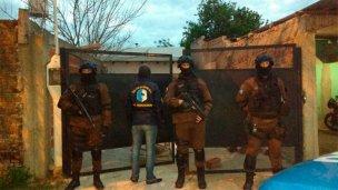 Megaoperativo contra el narcotráfico: hay cinco detenidos
