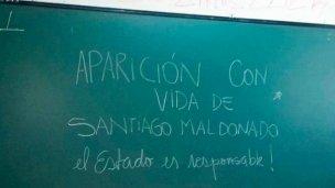 AGMER aseguró que en las aulas se habló de Maldonado