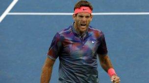 Del Potro se metió en cuartos de final del US Open
