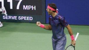 US Open: histórico triunfo de Del Potro ante Federer