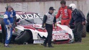 TC: Despistó Nico Bonelli en la primera clasificación