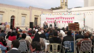 La parroquia celebró a su santa patrona