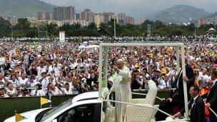 """En Colombia, el Papa habló de """"renovación"""" de la Iglesia"""