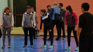 Comenzaron los entrenamientos del equipo nacional de atletismo para ciegos