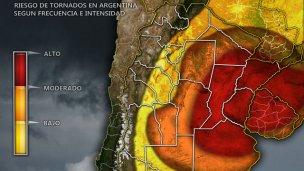 El miedo a los tornados volvió viral una noticia de ElEntreRíos