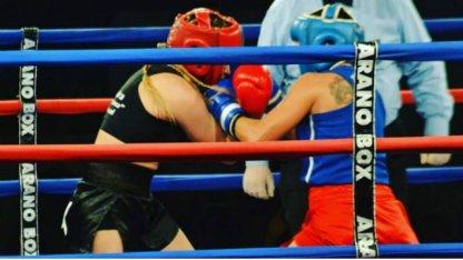 Boxeadora uruguayense triunfa en Córdoba