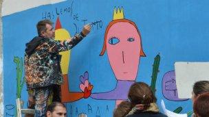 El mural de Milo Locket paso a ser de Patrimonio Cultural